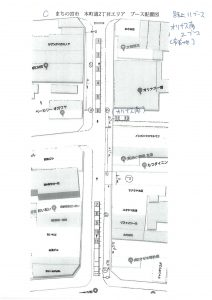 C 本町2丁目エリア ブース配置図